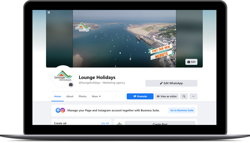 Social Media - Lounge Holidays
