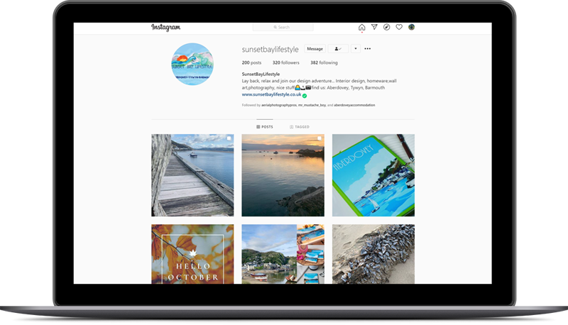 Social Media - Sunset Bay Lifestyle